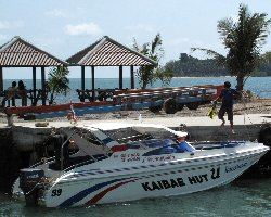 25 person speedboat from Trat to Koh Mak and Koh Kood